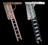 Складные чердачные лестницы Minka