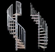Малогабаритные и винтовые лестницы