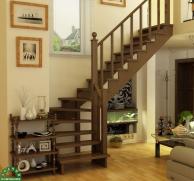 Деревянные лестницы ЗОДЧИЙ из березы
