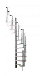 Малогабаритная винтовая лестница Metallica