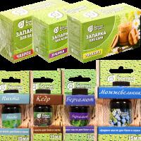 Эфирные масла и запарки для бани и сауны