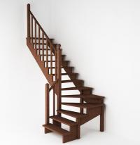 Лестница левая К-001(2-8)-14