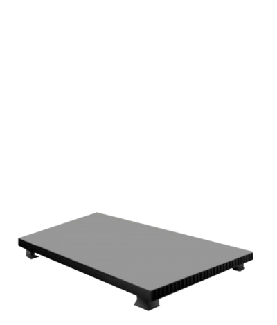 Экран напольный 24