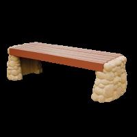 Каменное основание для скамейки