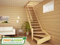 Лестница деревянная ЛС-14м