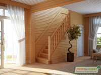 Лестница деревянная ЛС-215м