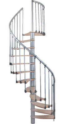 Винтовая лестница Wave plus Birke