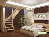 Лестница деревянная ЛС-07м